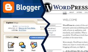 wordpress vs blogger comparison